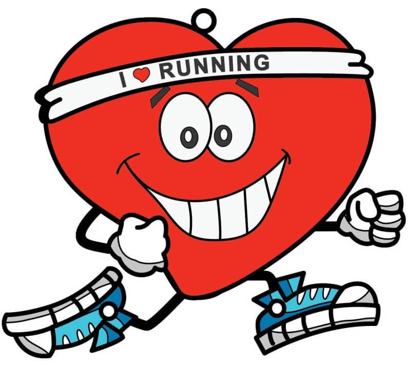 сердце любит бегать