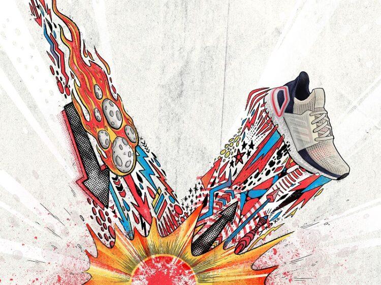 Кроссовки Adidas UltraBoost 19